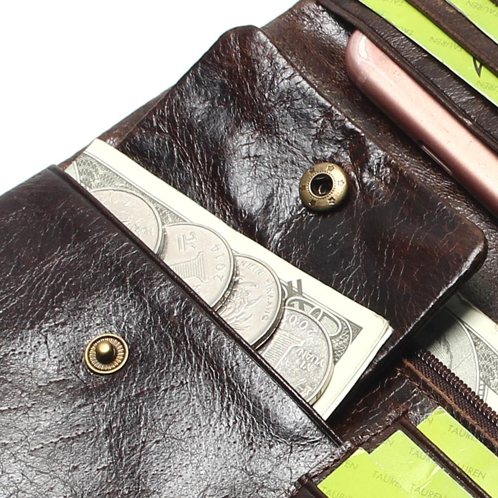 marca de luxo de alta Trending : Long Wallet Women Women Womens Leather Genuine Wallets Brand Ladies