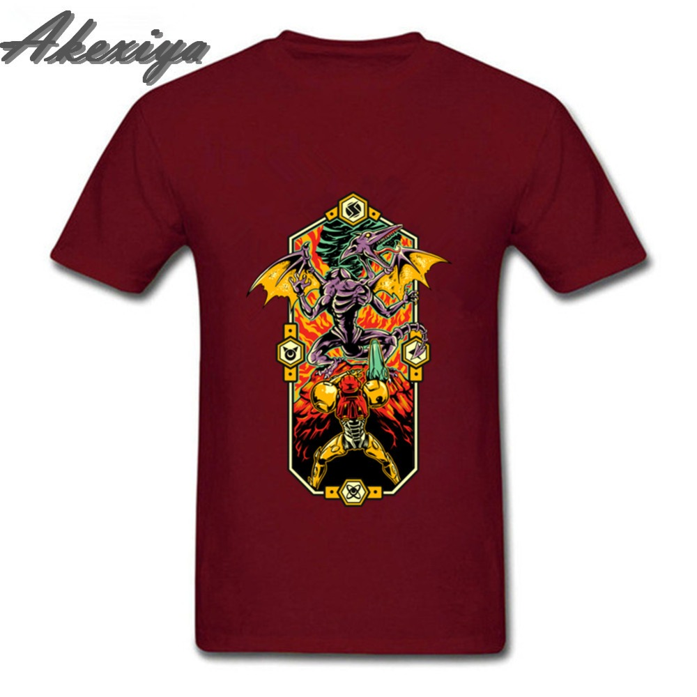 Epic Metroid game of thrones t shirt short sleeved round neck hipster basic streetwear tshirt best Selling formal shirts image