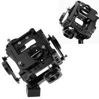 New 2015 Aerial Photography Gimbal 360 Degree Aluminium Monopod For Gopro Hero 4 3 3 Spherical