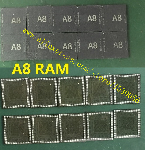 US $19 0 |A8 RAM main CPU SDRAM for iPhone 6P 6G 6Pplus LPDDR4 RAM ,  repairing error 4014 4013-in Connectors from Lights & Lighting on  Aliexpress com