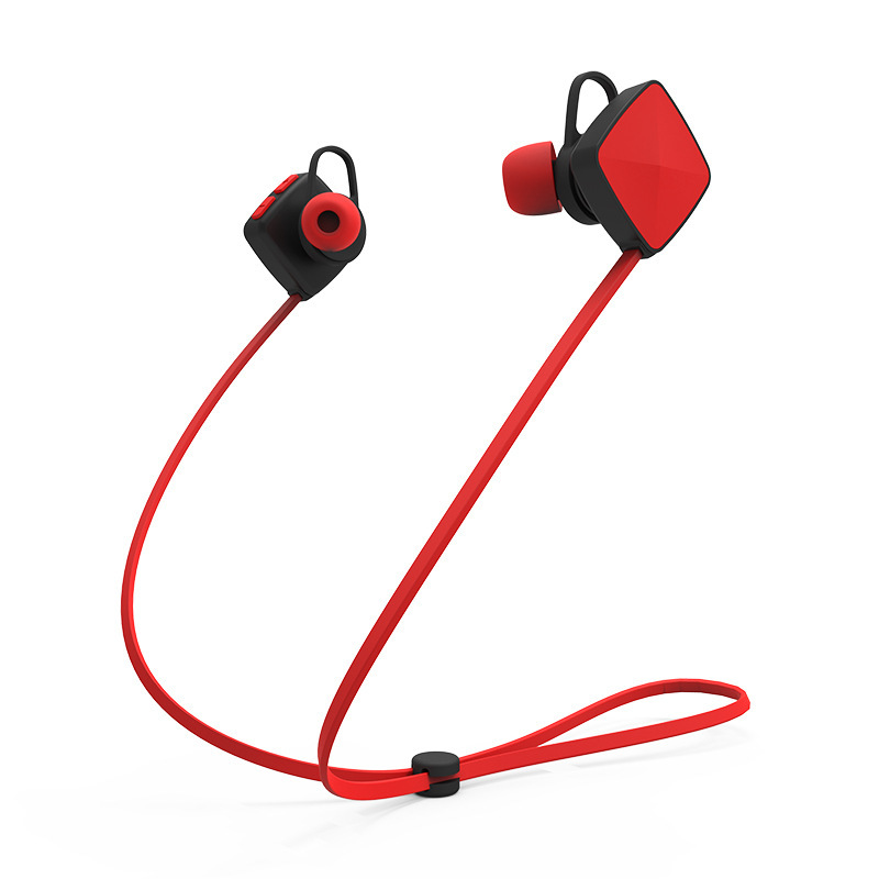 HESTIA Sport Running Earphones Wireless Bluetooth In-Ear 4.1 Noise Cancelling Headset Hifi Stereo Mp3 Music Player for cellphone  wireless music bluetooth headset 4 mini head wear sport ear hanging ear type 4 1 universal running stereo can insert card radio