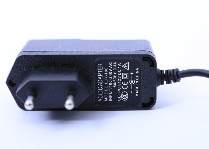 AC 100-240V DC 12V 1A ЕС вилка AC/DC адаптер питания зарядное устройство адаптер питания для камеры видеонаблюдения(2,1 мм* 5,5 мм