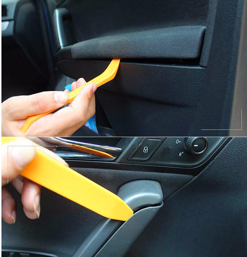 Image 3 - Car Audio Door Clip Panel Trim Dash Radio Removal Pry Tool Set For Toyota Camry Avensis Aygo Belta Blade Brevis Caldina Cami-in Auto Fastener & Clip from Automobiles & Motorcycles