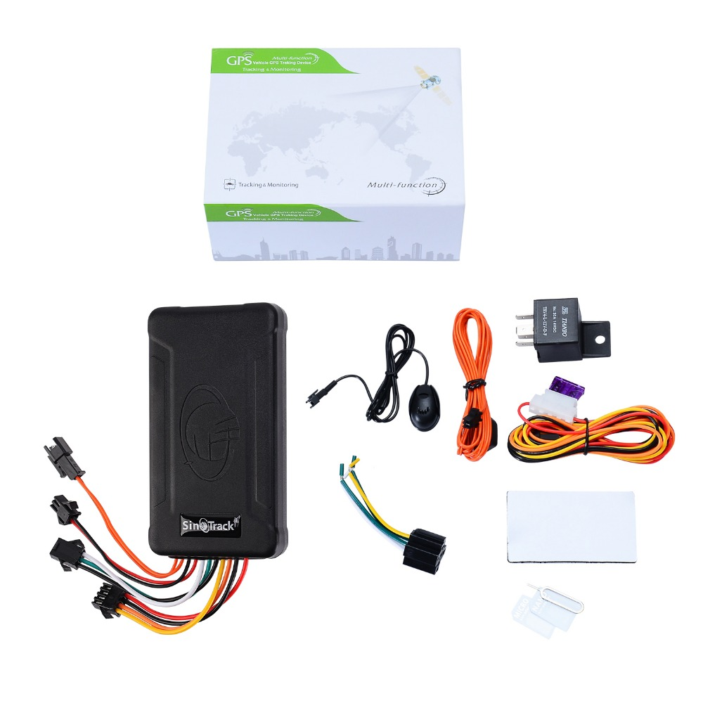 Sinotrack Vehicle-Tracking-Device Software Motorcycle ST-906 Power--Online GSM for Car