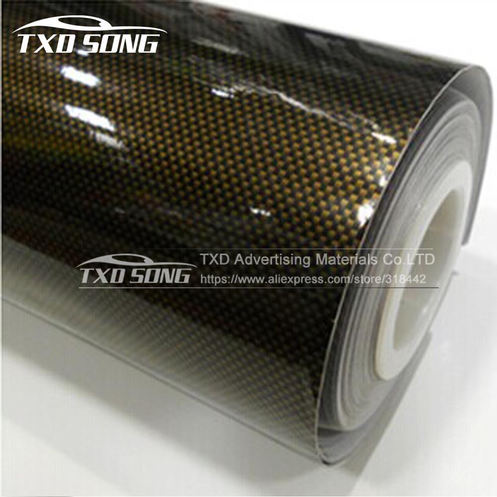 10 20 30 40 50 60x152cm Carbon Fiber 2d Glossy Carbon