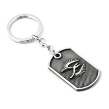 Counter Strike Cs Go Metal Keychain Letter Logo Pendant Car Key Holder Ring Chain for Men Game Player Fans Collection Gifts hot game starcraft 2 zerg logo metal keychain for men jewelry
