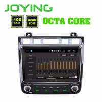 JOYING 8 GPS Android 8.1 Car Radio For VW touareg 4GB Multimedia 1 Din player auto audio BT DSP Fast Boot Octa Core 2010 2017