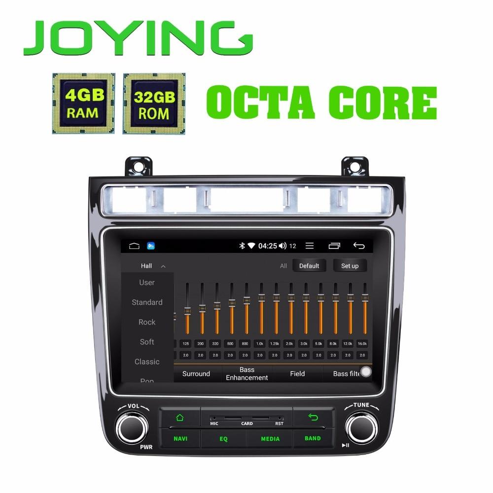 JOYING 8 GPS Android 8 1 Car Radio For VW touareg 4GB Multimedia 1 Din player