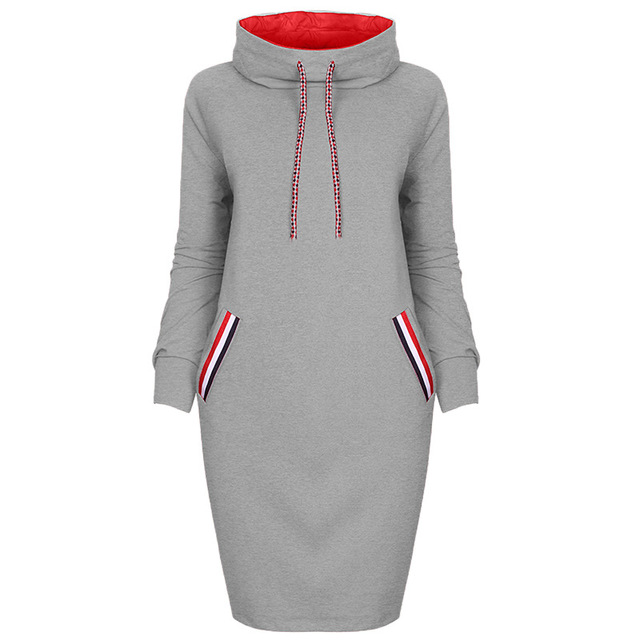 Autumn Winter Long Sleeve Casual Party Dress 1