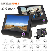 4 0 Inch IPS Screen Full HD 1080P Car DVR Video Recorder Dash Camera G Sensor