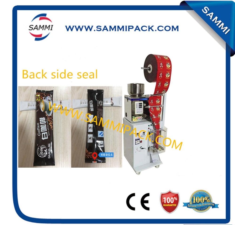 110V, 60HZ/220V,50HZ SMFZ-70 back side seal tea bag weighing and packing machine