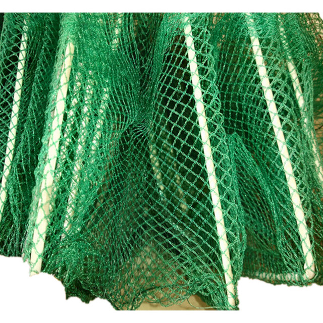 L3m 19sections 13 Fish inlet ground cage fishing net china lobster trap crab trap rede cage to fish network fish trap Crayfish