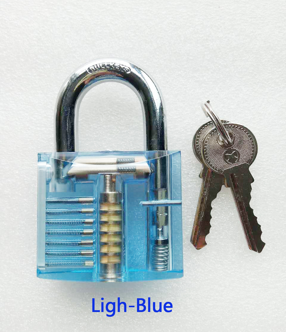 b8ee2c1bc0d0 HOT Sale!!BULLKEYS Light Blue Transparent Mini Crystal Padlock Packed with  Clear Box BK058-in Locks from Home Improvement on Aliexpress.com | Alibaba  ...