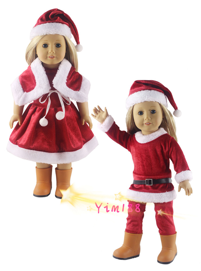 Popular American Girl Doll Christmas and Outfits-Buy Cheap ...