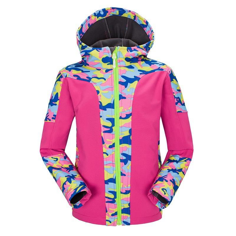 где купить Waterproof Index 10000mm Children Outerwear Warm Coat Windproof Boys Girls Jackets Sporty Kids Clothes For 4-16 Years Old дешево
