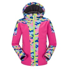 Children Outerwear Warm Coat Waterproof Windproof Boys Girls Jackets Sporty Kids Clothes Double-deck For 4-16T Winter and Autumn