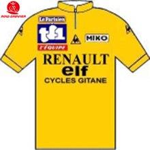 f03d80c04 BOTTECCHIA Tour de France 1981 Official Tissue shirt yello Renault-Elf Short  sleeved