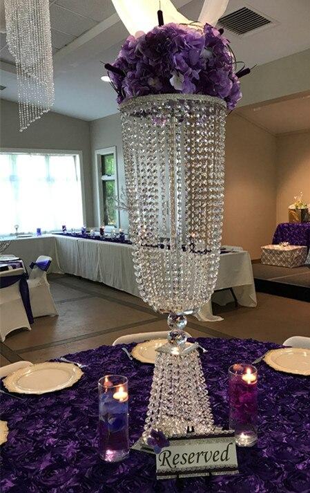 crystal wedding centerpiece,table top chandeliers ...