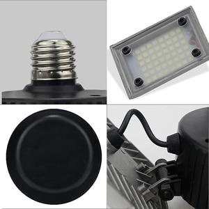 Image 5 - 60W 144 LEDs Deformable Lamp Garage Light E27 Led Corn Bulb High Intensity Parking Warehouse Basement Industrial Home Lighting