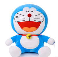Kawaii 16/20inch Giant Japan Doraemon Manga soft Plush Dolls smile Cat stuffed Animal Cartoon Toy kid children Birthday gift