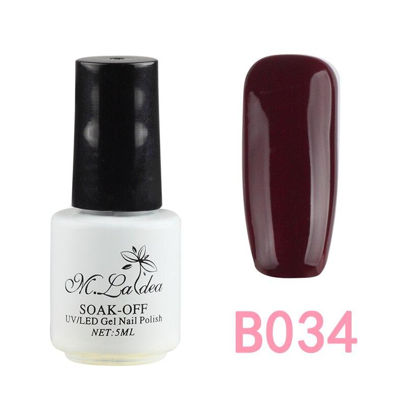 Various Colors Color Nail Polish UV Paint Gel DIY Nail Gel Paint 5ML ...