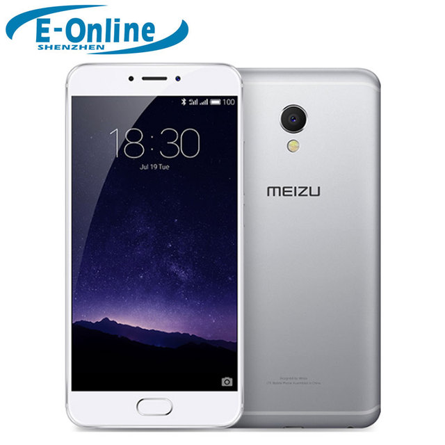 "Оригинальный Meizu MX6 MX 6 MTK Helio X20 Дека Ядро Мобильного Телефона 5.5 ""3 ГБ RAM 32 ГБ IMX386 ROM 12MP Камеры"