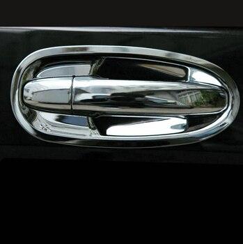 8 pz/set Auto Porta Maniglia Ciotola di Copertura Trim Per Mercedes-Benz V-Class W447 2014 2015 2016/ vito 2014-2018 car styling
