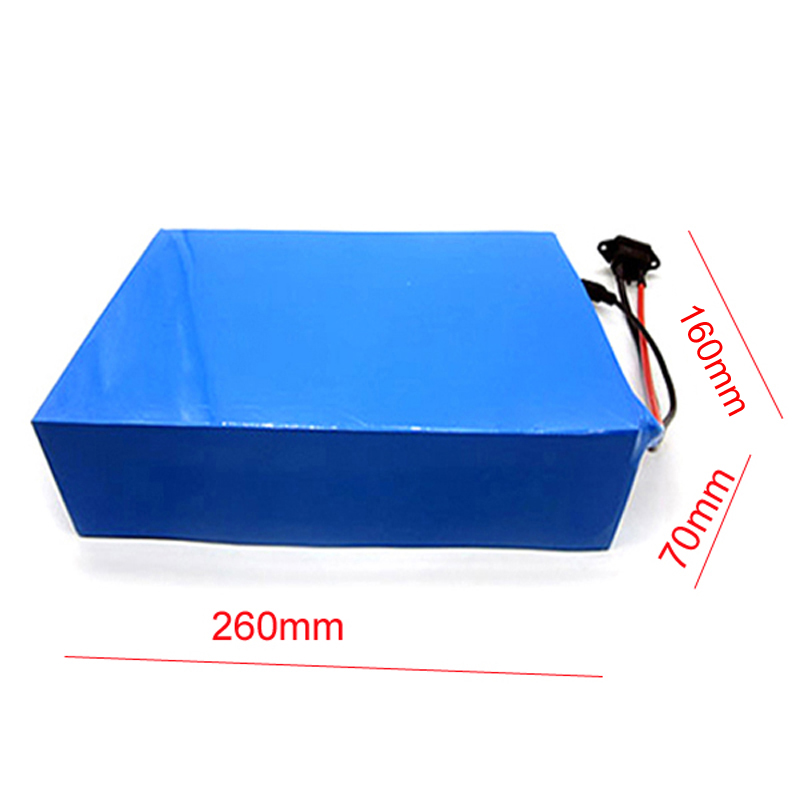 Batterie de vélo électrique 1000w 48v batterie/48 V 20Ah pour 48v Bafang/8fun 1000 w/750 w moteur d'entraînement central/central avec BMS et chargeur - 6