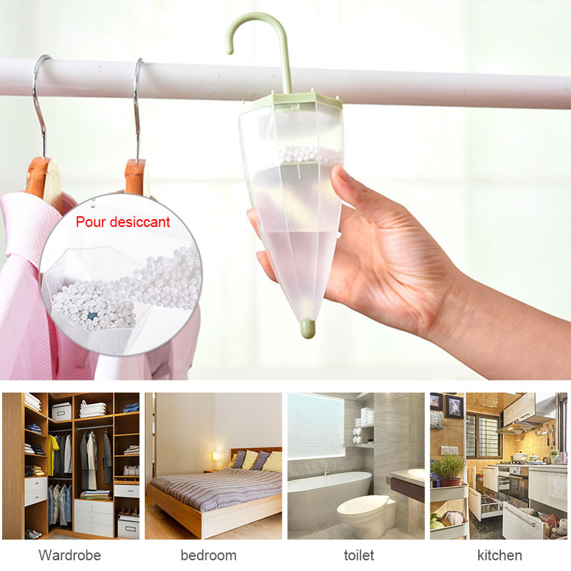 Umbrella Desiccant Dehumidifier Drying Agent 4 Colors Household Keeping Dry Home Moistureproof Bag Indoor Kitchen Supplies