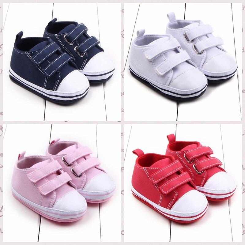 Bébé garçons filles toile bonbons couleur chaussures premiers marcheurs Cool enfants chaussures pour bébés automne printemps