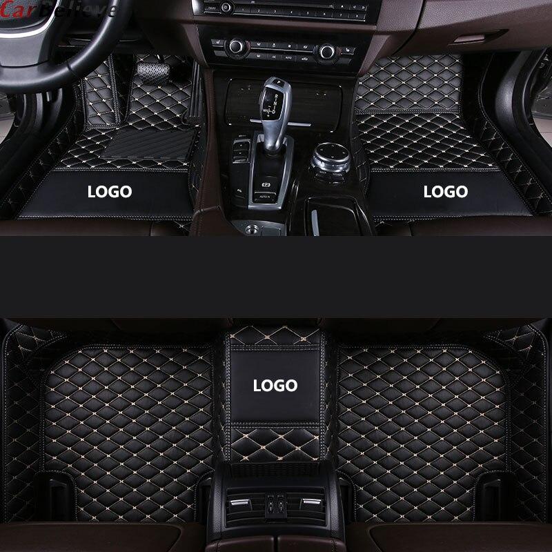 Tapis de sol de voiture pour mercedes w245 w212 w169 ml w163 w246 ml w164 cla gla vito w639 glk slk accessoires tapis