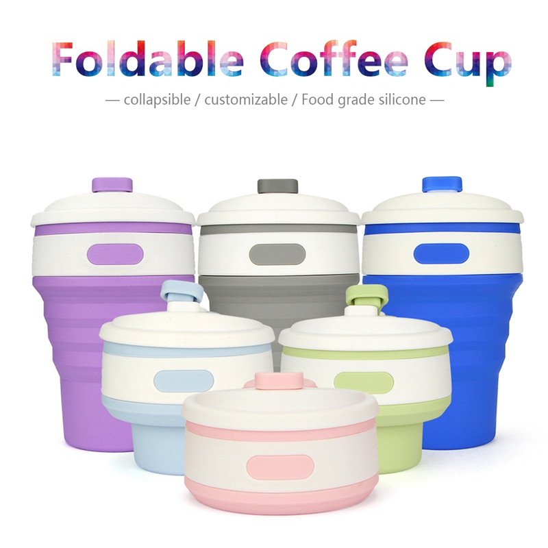 Collapsible Coffee Cup display