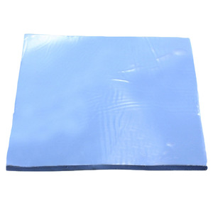 Reusable Silicone Pad CPU Cooling Blue For Laptop Sheet Shock Absorption Wear Resistant Films Thermal Conductive Heatsink Soft(China)