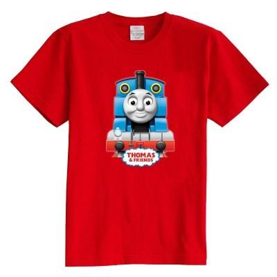 Niños camiseta manga corta de verano Thomas locomotora ropa de bebé 100% algodón niño niña kid t shirt