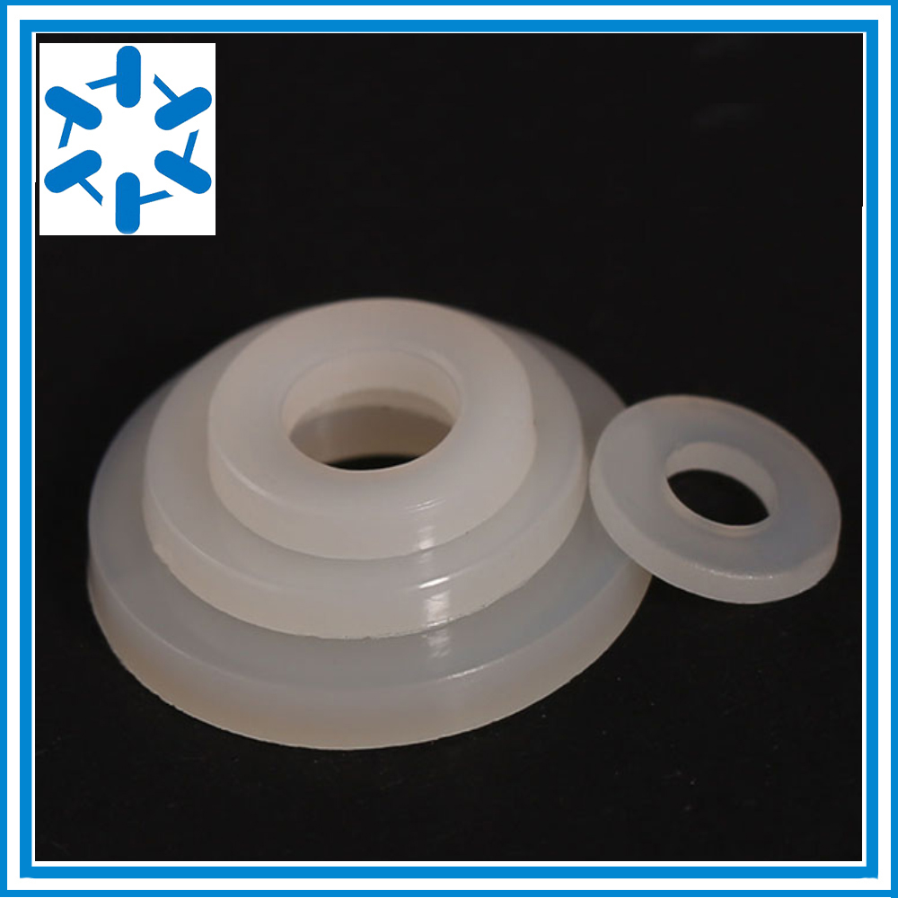 50 Pcs Nylon M2 Insulation Washer 2mm x 5mm x 1mm Thickness