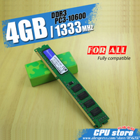 New 4GB DDR3 PC3 10600 1333MHz For Desktop PC DIMM Memory RAM 240 Pins For