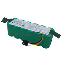 Battery for Kitfort KT504 Haier T322 T321 T320 T325/Panda X500 X580 / Ecovacs Mirror CR120 / Dibea X500 X580 Robotic Vacuum
