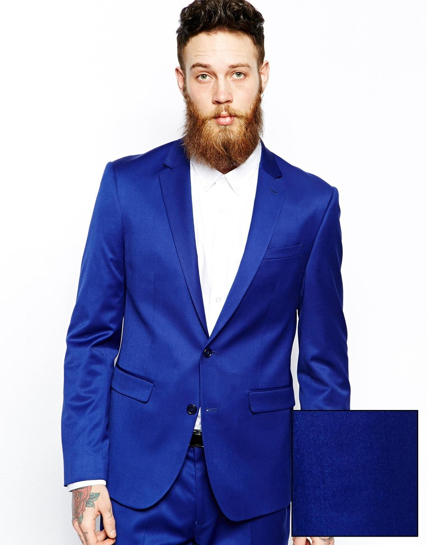 Popular Slim Fit Blue Men Suits-Buy Cheap Slim Fit Blue Men Suits ...