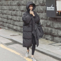 Thickening cotton padded warm winter coat outerwear women loose fit overcoat plus size 2017 new arrial free shipping