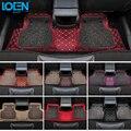 Venta caliente piso alfombras de estilo de coche de 7 colores de encaja perfectamente para Chevrolet Cruze Malibú Trax Smelless Coche piso alfombra
