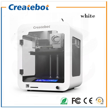 New Full Metal Structure Createbot 3d 3D Printer Super Mini 3d Printer Kit LCD Screen One Roll Filament 1GB SD Card
