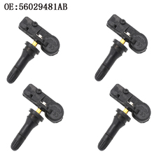 4 PCS New High Quality TPMS Tire Pressure Sensor 433MHz Fits For Dodge Ram 2009-2010 56029481AB