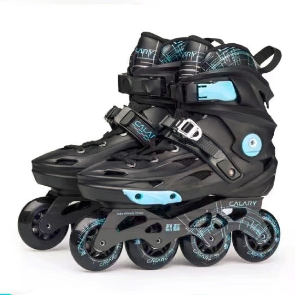 2018 Spring Inline Professional Adult  Slalom Unicorn Ice Skating Skate Shoes Adjustable Washable Brush Street  PU Wheels Adulto inline duo 7квт киев