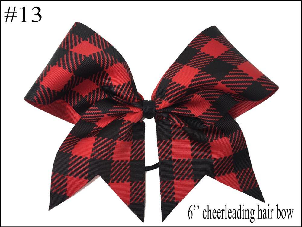 free shipping 10pcs Buffalo Plaid bows christmas Hair Bows With Clips plaid Kids Girls Princess Handmade Boutique bows - Цвет: 2018102402013