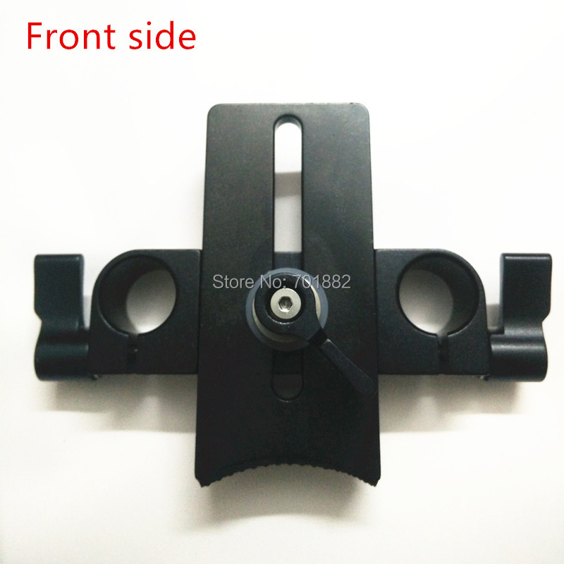 Camera Lens Holder 15mm rod rig adapter (4)