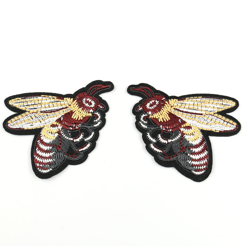 1 pár 8cm * 6.7cm hímzett madarak tapasz varrással Aplikálruha - Művészet, kézművesség és varrás