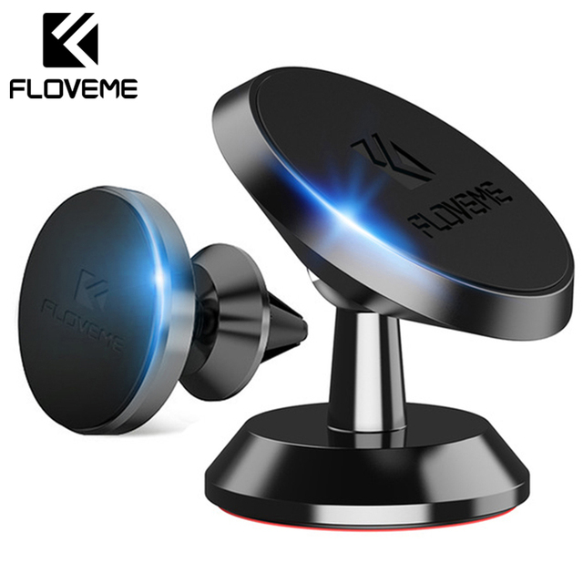 FLOVEME Magnetic Phone Holder Universal For iPhone Samsung Two Style Air Vent Dash Board Magnet Movil Phone Stand Soporte in Car
