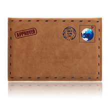 For iPad air1 2 9.7/10.5 mini 1234 Case,Ultra Slim and Lightweight Classic Retro Protective Sleeve Envelope PU Leather bag shell