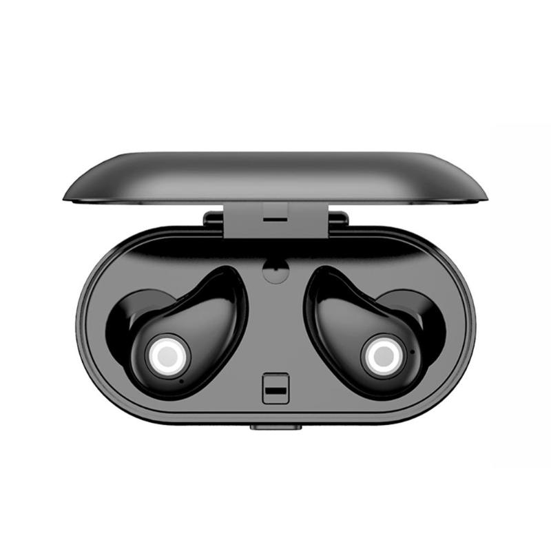 1Pair Professional Waterproof A8 TWS Wireless Bluetooth Mini Headphones Stereo Earphone Earbuds Headset with Charge Box
