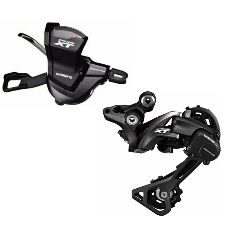 Shimano DEORE XT M8000 2PCS 1x11 Speed Groupset Contains Shifter Lever Rear Dearilleur